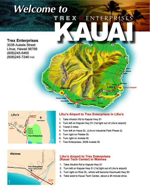 photo relating to Printable Map of Kauai referred to as Maps